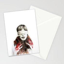 manifesto against animal abuse Stationery Cards