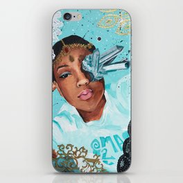 Lace In The Sky With Diamonds iPhone Skin