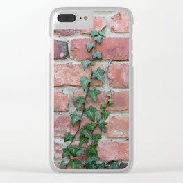 Crawling Ivy Clear iPhone Case