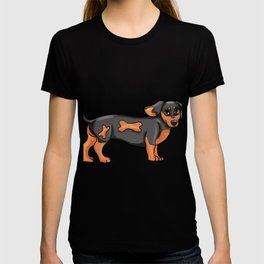 Dackel Dog Dog-Owner gitr Present puppy T-shirt