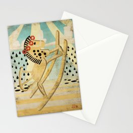 The Dance of the Rocking Horse Stationery Cards