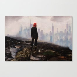 Urban Human Canvas Print
