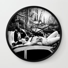 Rashomon Wall Clock