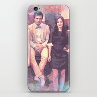gossip girl iPhone & iPod Skins featuring Gossip Girl American TV series by Nechifor Ionut