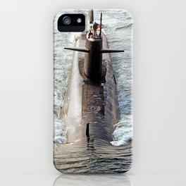 USS THOMAS JEFFERSON (SSBN-618) iPhone Case