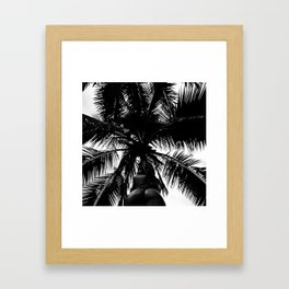 Palm with Sass  Framed Art Print