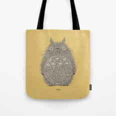 Yellow Totoro Tote Bag