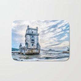 Belém Tower, Lisbon (Portugal) Bath Mat