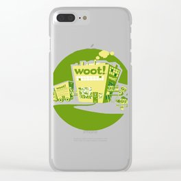 Woot Factory Clear iPhone Case
