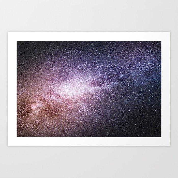 Take me to Mars Art Print