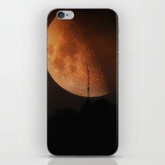 Red Moon II iPhone & iPod Skin