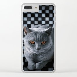 Diesel in the box Clear iPhone Case