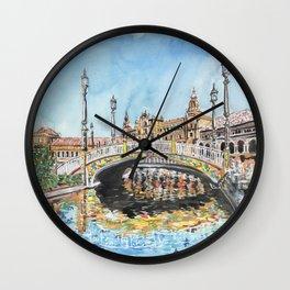 Seville, Spain Wall Clock