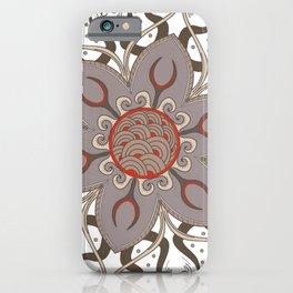 Mandala hypnotic iPhone Case