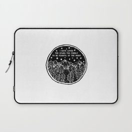 I have loved the stars too fondly to be fearful of the night. Laptop Sleeve