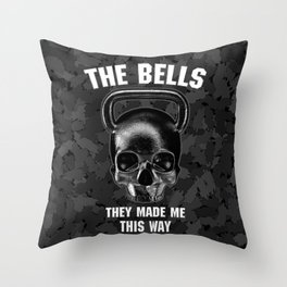 The Bells They Made This Way Throw Pillow