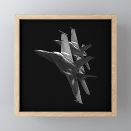 US Military Fighter Attack Jets Framed Mini Art Print
