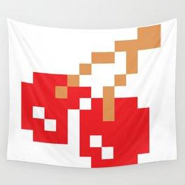 8-bit Cherry Wall Tapestry