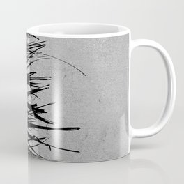 Concrete Fringe Black on Side Coffee Mug