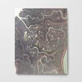 Earth from above Metal Print