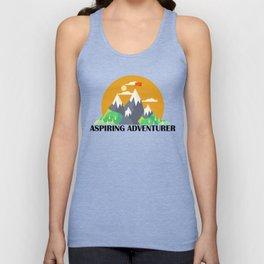 Aspiring Adventurer Unisex Tank Top