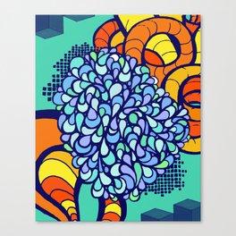 Paisley Tangle Canvas Print