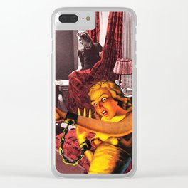 soft furnishings Clear iPhone Case