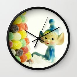 Belle the Pixie Elf Wall Clock