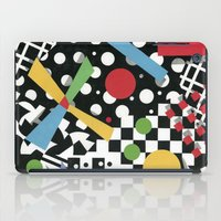 tape iPad Cases featuring Ticker Tape by Patricia Shea Designs