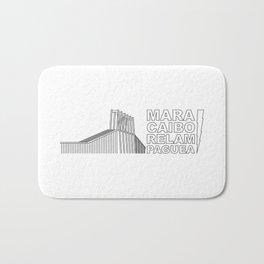 Maracaibo Relampaguea Bath Mat