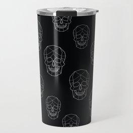 Skull Aesthetics Pattern Travel Mug