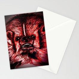 Badger Bad Red Stationery Cards