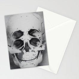 the 4i skull stencil art 1 Stationery Cards