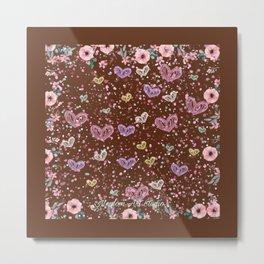 Flower Garden 3 Metal Print