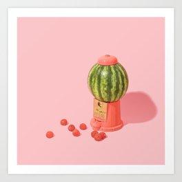 Melon Baller Art Print
