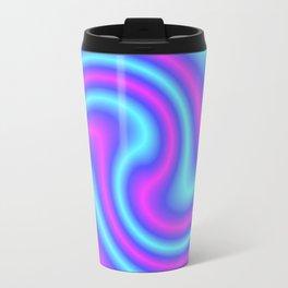 Blue Violet Twist Travel Mug