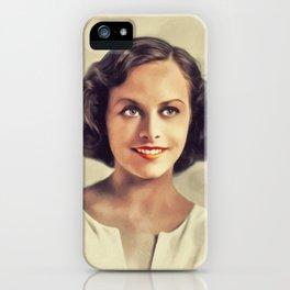 Paulette Goddard, Vintage Actress iPhone Case