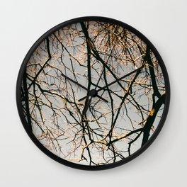 TREES BY EDUARD Wall Clock