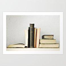 Vintage Books No.2 Art Print