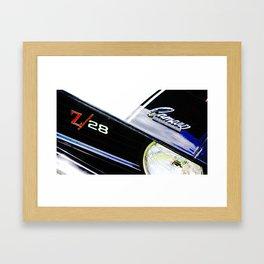 Z-28 Framed Art Print
