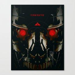 T-Machine Canvas Print
