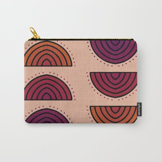 Flowers of Sunset Carry-All Pouch