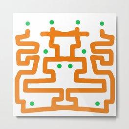 Design 5 Metal Print