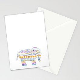boho elephant Stationery Cards
