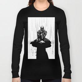 Black Spider-Man Long Sleeve T-shirt