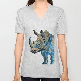 Rhino! Unisex V-Neck