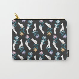 Grasping Flowers Carry-All Pouch