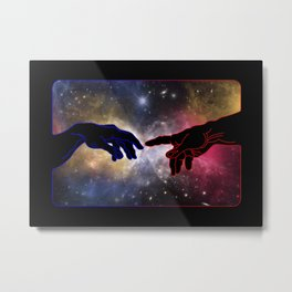 A Touch too Much – Universe Metal Print