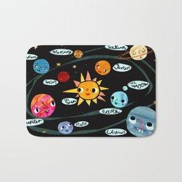 Our Solar System Bath Mat