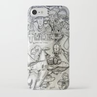 military iPhone & iPod Cases featuring Military by Amanda McCrory